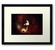 Darkness Of Love Framed Print