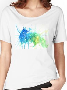 Mystic Watercolor Fox  Women's Relaxed Fit T-Shirt