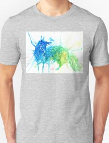 Mystic Watercolor Fox  T-Shirt