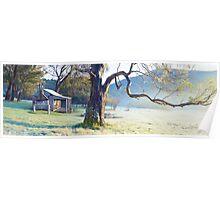 Oldfields Hut, Kosciuszko National Park, Australia Poster