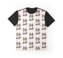 French Bulldog Mime Graphic T-Shirt
