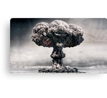 """Explosion Faces"" Canvas Print"
