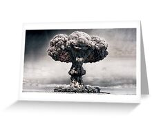 """""""Explosion Faces"""" Greeting Card"""