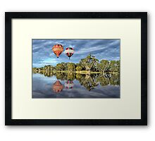 Hot Air Ballooning Framed Print