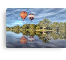 Hot Air Ballooning Metal Print