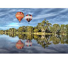 Hot Air Ballooning Photographic Print