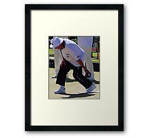 M.B.A. Bowler no. d157 Framed Print