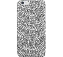 Hand Drawn Feather Scales iPhone Case/Skin