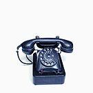 Retro Phone by Maria  Gonzalez