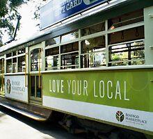 Tram or Trolley Car - Bendigo, Vic. by EdsMum