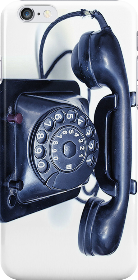 Old Phone by Maria  Gonzalez