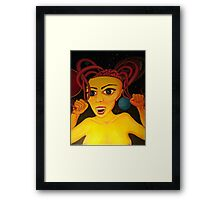 I Want to Pull My Brains Out Framed Print