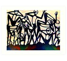 symphony of lost souls Art Print