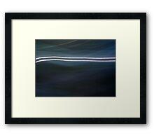 Pinhole Abstract Framed Print