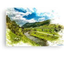 Livigno Canvas Print