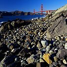Marshall&#x27;s Beach, San Francisco by Rodney Johnson