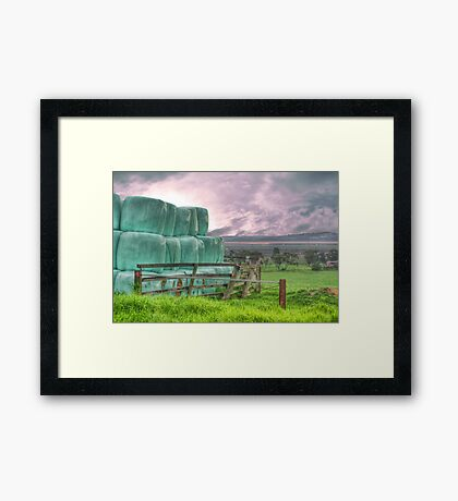 Marlo Farmyard Views Framed Print