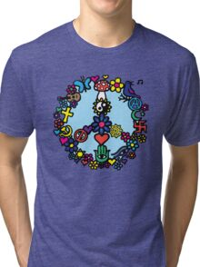 Peace Sign Tri-blend T-Shirt