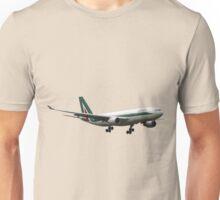 Alitalia, Airbus A330-202 Unisex T-Shirt