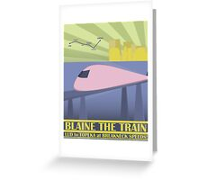 Travel Blaine Rail Greeting Card