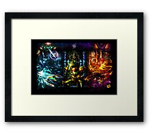 Harmony of a Hunter: 25 Years of Metroid Framed Print
