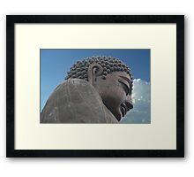 Giant Buddha Framed Print