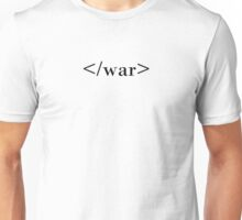 End War HTML Unisex T-Shirt