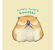 Hungry Hungry Hamster Photographic Print
