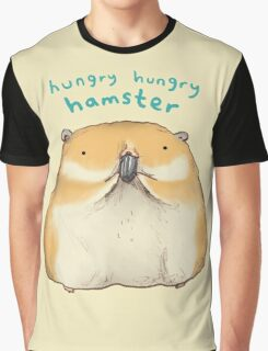 Hungry Hungry Hamster Graphic T-Shirt