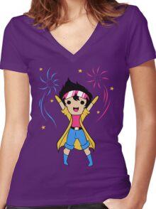 Jubilee Women's Fitted V-Neck T-Shirt