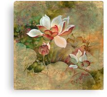 """Golden Mist""  from the series ""In the Lotus Land""  Canvas Print"