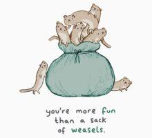 Sack of Weasels Kids Tee