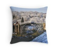 Ironbridge Spring Snow Throw Pillow