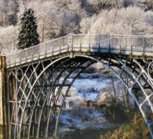 Ironbridge Spring Snow Sticker