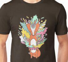 Abstract Fox Unisex T-Shirt
