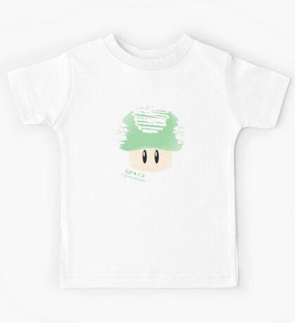 1-UP mushroom -scribble- Kids Tee