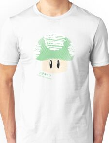 1-UP mushroom -scribble- Unisex T-Shirt