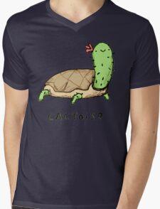 Cactoise Mens V-Neck T-Shirt