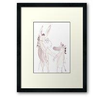 Dr. Donkey Framed Print