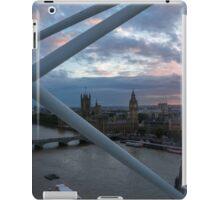 on the london eye iPad Case/Skin