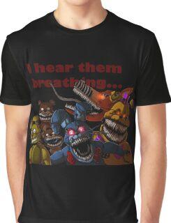 FNAF 4 Nightmare Animatronics Graphic T-Shirt