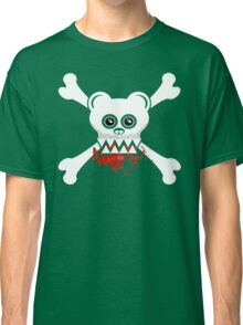 BEAR SKULL AND CROSSBONES Classic T-Shirt