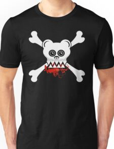 BEAR SKULL AND CROSSBONES Unisex T-Shirt