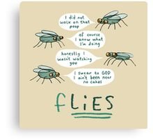 fLIES Canvas Print