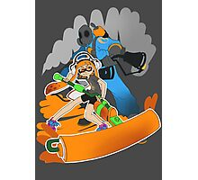 Ink Fortress 2 - Pyroller Photographic Print