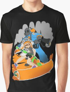 Ink Fortress 2 - Pyroller Graphic T-Shirt