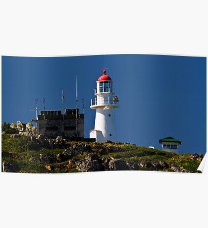 Double Island Point Lighthouse QLD Australia Poster