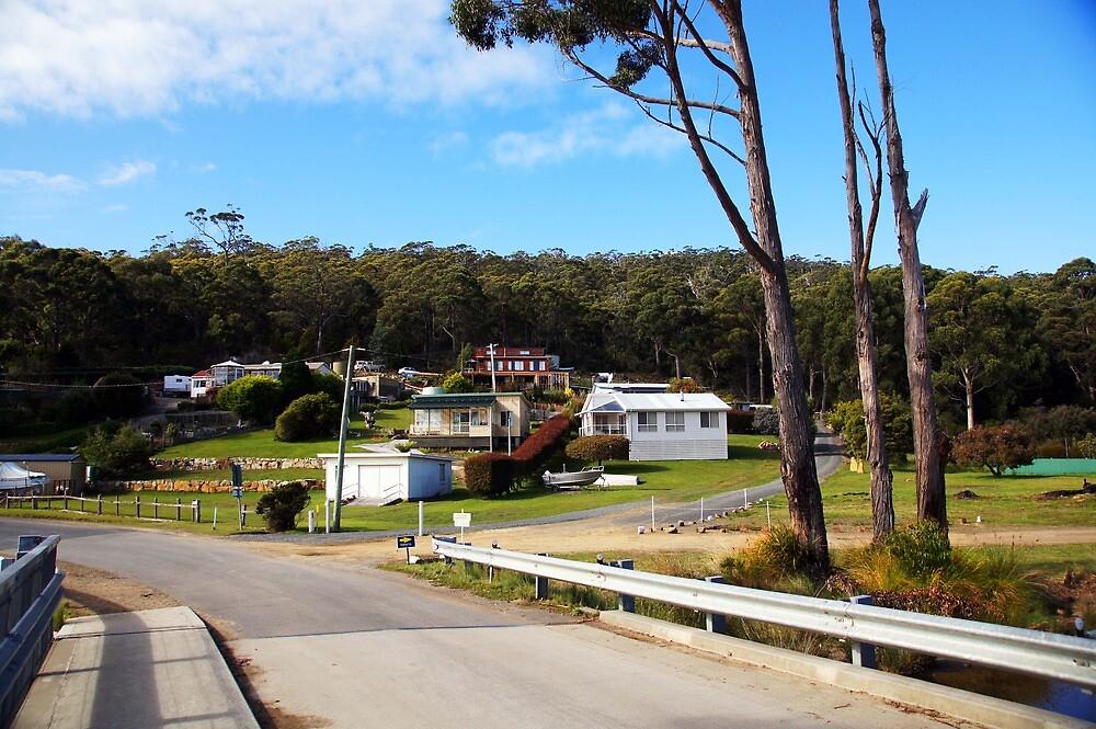 Beautiful Tasmania - Adventure Bay the village by georgieboy98