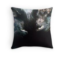 Dark And Mysterious Throw Pillow