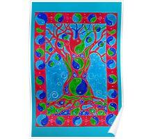 Yin Yang Tree Poster